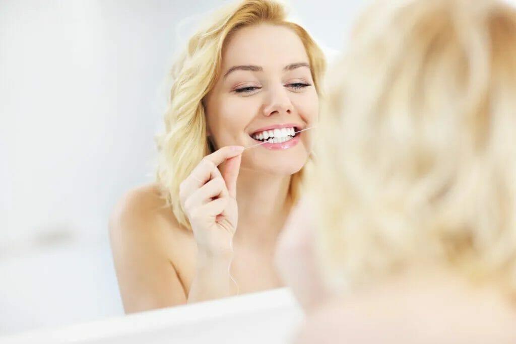 dental floss home care